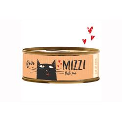 BUBECK BÜCHSENFLEISCH Nassfutter für Katze  Mizzi Pute Pur 6x 100 g
