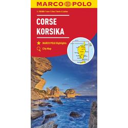 MARCO POLO Karte Korsika 1:150 000
