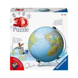 Ravensburger 3D-Puzzle 3D-Puzzle Globus Ø22cm, 540 Teile, inkl., Puzzleteile