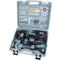 Brüder Mannesmann Werkzeuge Mannesmann Werkzeuge Werkzeugset Elektrogerätesatz, 4-tlg., (4-St), Elektrogerätesatz