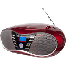 Dual P 60 BT CD-Radio UKW AUX, Bluetooth®, USB Rot