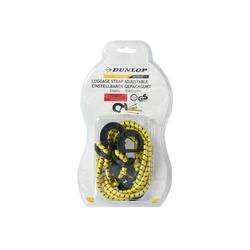 Dunlop Gepäckgurt einstellbar Gepäckgurt einstellbar Gepäck-Halterung gelb