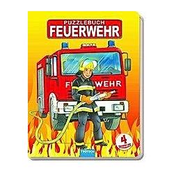 Feuerwehr Puzzlebuch - Buch