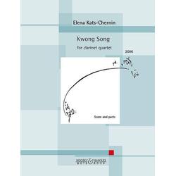 Kwong Song. Klarinettenquartett (3 Klarinetten und Bass-Klarinette)