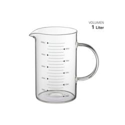 Weis Messbecher Weis Messbecher Glas 1 Liter, Glas
