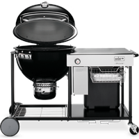 WEBER Holzkohlegrill Summit Grilling Center Charcoal schwarz