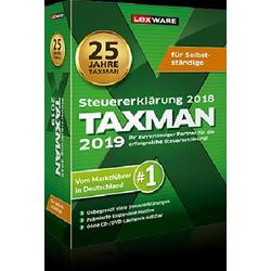 Taxman 2019 für Selbstständige 1 DVD-ROM