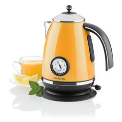 Wasserkocher Teekessel 1,7l 2200W Thermometer »Aquavita Chalet«, Wasserkocher, 67929306-0 orange orange