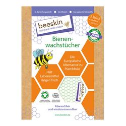 Bienenwachstücher Set - 2 Stück