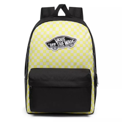 Rucksack VANS - Realm Backpack Lemon Tonic Checkerboard (VD7)