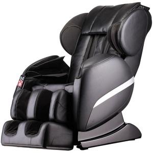 Massagesessel Shiatsu Zero Gravity Schwerelosigkeits - Massage Heizung schwarz