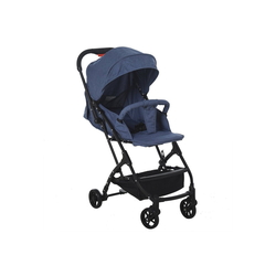 HOMCOM Kinder-Buggy Faltbarer Kinderbuggy blau