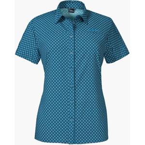 Schöffel Damen La Gomera1 Bluse, Blue Indigo, 40