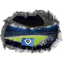 HSV Wandtattoo 3D Volksparkstadion