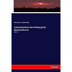 Antonius van der Linde  - Buch