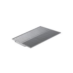 Navaris Küchenspüle, Abtropfmatte Abtropffläche Geschirrablage aus Silikon - 43x33,5x0,5cm Geschirr-Abtropfmatte - spülmaschinenfest rutschfest hitzebeständig