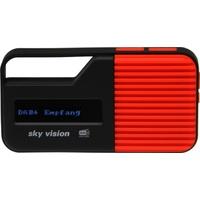 Sky Vision DAB 13 rot