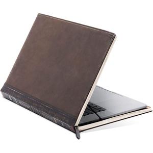 Twelve South BookBook V2 Schutzhülle für MacBook | Vintage Leder Book Case/Sleeve mit Innentasche für MacBook Pro mit Thunderbolt 3 (USB-C) und MacBook Air Retina 33 cm (13 Zoll), 12-2020