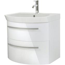 Oristo Waschtisch Flow, Breite 65 cm weiß