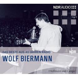 Zu Gast beim NDR. 2 CDs als Hörbuch CD von Wolf Biermann