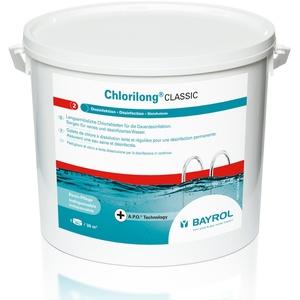 Bayrol Chlorilong Classic 10 kg Chlortabletten à 250 g zur Dauerdesinfektion