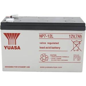 Yuasa NP7-12L NP7-12L Bleiakku 12V 7Ah Blei-Vlies (AGM) (B x H x T) 151 x 98 x 65mm Flachstecker 6.3