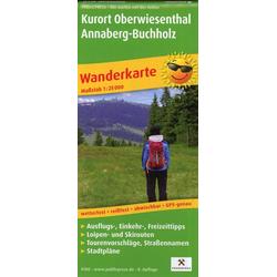 Kurort Oberwiesenthal - Annaberg-Buchholz 1:25 000