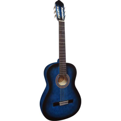 MSA Musikinstrumente C23 Konzertgitarre 4/4 Blau