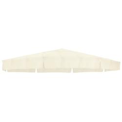 sungarden Ersatzschirmbespannung, Ø 350 cm, rund beige Sonnenschirme -segel Gartenmöbel Gartendeko Ersatzschirmbespannung