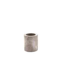 BUTLERS Kerzenhalter CONCRETE Kerzenhalter Höhe 7cm