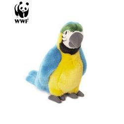 WWF Plüschfigur Plüschtier Gelbbrustara Papagei (18cm)