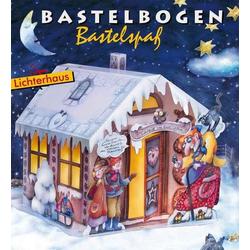 Lichterhaus Hänsel und Gretel Bastelbogen