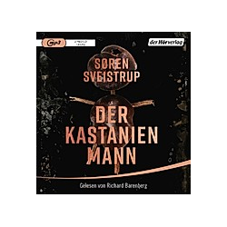 Der Kastanienmann  2 MP3-CD - Hörbuch