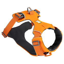 Ruffwear Hundegeschirr Front Range™ Harness orange, Breite: ca. 2 cm, Brustumfang: ca. 43 - 56 cm