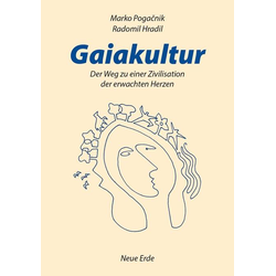 Gaiakultur als Buch von Marco Pogacnik/ Radomil Hradil