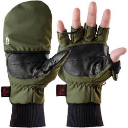 The Heat Company HEAT 2 SOFTSHELL Handschuh Grün (Größe: 7, Handumfang 17-18 cm)