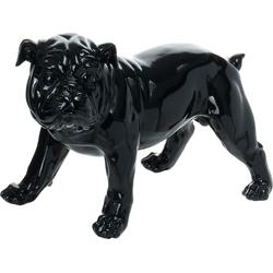 Kayoom Dekofigur Bulldoge schwarz
