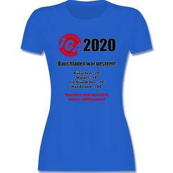 Shirtracer T-Shirt Bauchladen war gestern! 2021 - JGA Junggesellenabschied Männer - Damen Premium T-Shirt - T-Shirts bauchladen jga S