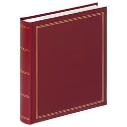 Walther Fotoalbum Monza Album (1-St) rot 26 cm x 5 cm x 28 cm
