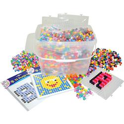 Starterset XL-Bügelperlen in Box, 5.000 Perlen & viel Zubehör