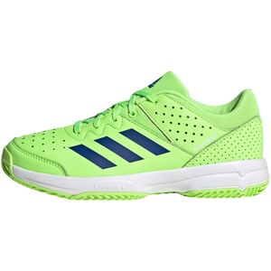 adidas Unisex-Erwachsene Court STABIL JR Handballschuhe, Versen/Azurea/Ftwbla, 39 1/3 EU