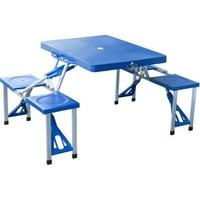 Outsunny Campingtisch blau (01-0009)