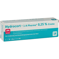 Hydrocort - 1 A Pharma 0.25 % Creme
