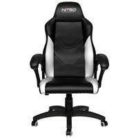 Nitro Concepts C100 Gaming Chair schwarz / weiß