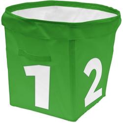 ACHOKA® Aufbewahrungsbox Aufbewahrungsbox Tube - rot grün