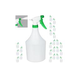 relaxdays Sprühflasche 24x Sprühflasche in Grün