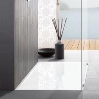 Villeroy & Boch Architectura Metalrim Duschwanne A1080ARA215GV01 weiß, 100x80x1,5cm, Antirutsch