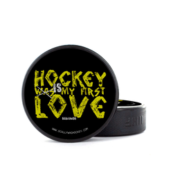 Eishockey Puck FIRST LOVE