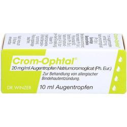 CROM-OPHTAL Augentropfen 10 ml