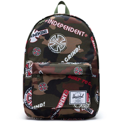 Rucksack HERSCHEL - Independent Classic X-Large Woodland Camo Multi Independent Logo/Cypress (03028)